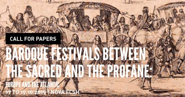 Call for Papers - Baroque Festivals between the Sacred and the Profane: Europe and the Atlantic
