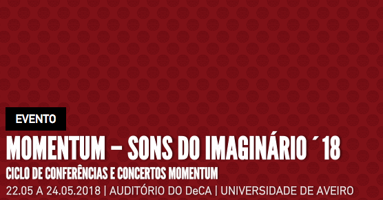 MOMENTUM - Sons do Imaginário'18