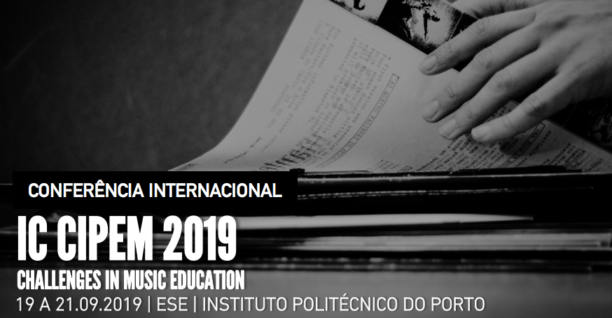 IC CIPEM 2019 Challenges in Music Education