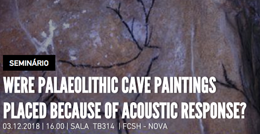 Were palaeolithic cave paintings placed because of acoustic response?