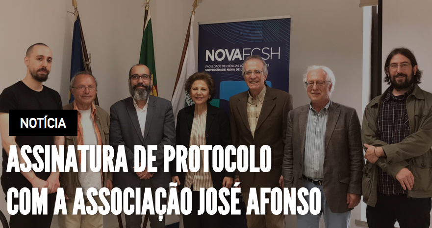 Collaboration agreement with Associação José Afonso